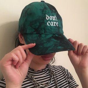 Don't Care Tie Dye Hat